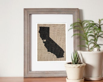 San Francisco, California Love Print