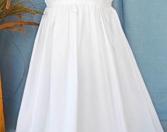 White Slip for Christening Gown -18001