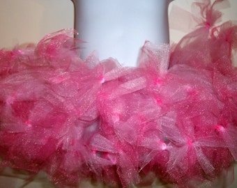 Pink Princess Knotted Tutu