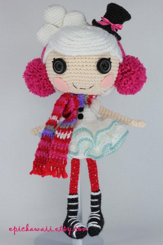 СХЕМА: Зима крючком Amigurumi Кукла