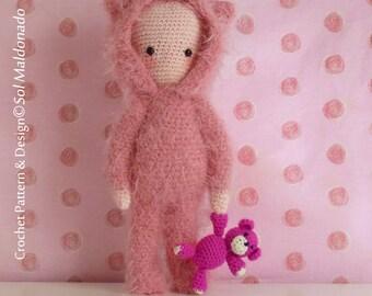 Amigurumi Bear Crochet Pattern PDF - Instant Download