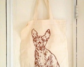 Sphynx Tote - Red