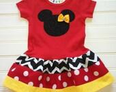 Girls Dress Chevron Dress Red Dress Girls Clothing Girls Dress Kids Girls Infant Toddlers Sizes 6 12 18 24 Mo  Girls Sizes 2 3 4 5 6 8
