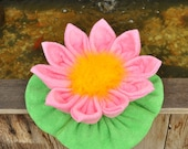 Washcloth Water Lily, WashAgami ™, PDF Pattern and Instructional Video