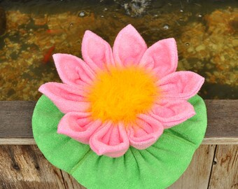 Baby Washcloth Water Lily, WashAgami ™, PDF Pattern and Instructional Video