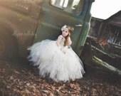 gold flower girl tutu dress, gold sequin flower girl dress, Gatsby wedding tutu dress