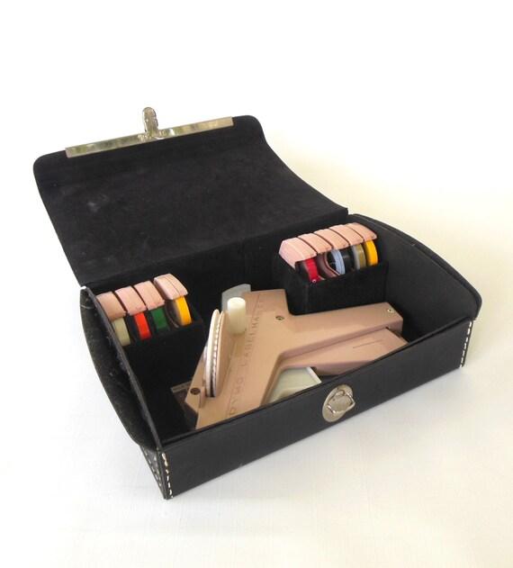 Dymo Label Maker Tapewriter Kit Case 1040 Labeler Printer