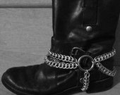 Custom Hellbent Tormentor Chainmaille Bootstraps