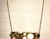 Necklace / Vintage Buttons - AddiesWonders