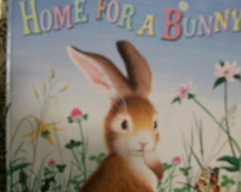 Home For Bunny  A Little Golden Book Vintage