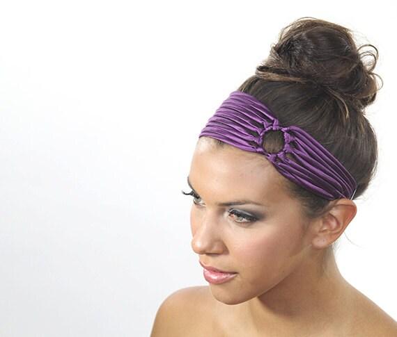 Purple Headband Purple Hair Accessories Unique Birthday