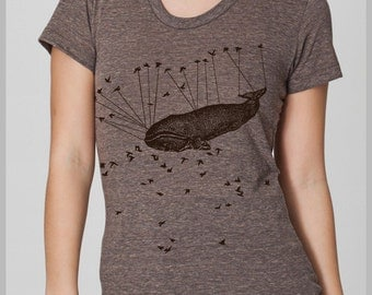 Women's T Shirt Liberated by Aviation American Apparel S, M, L, XL 8 COLORS