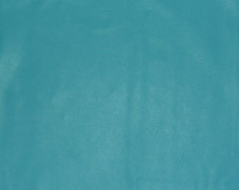 "Leather 3""x11"" True Turquoise DIVINE Cowhide fine top grain - 2-2.5 oz /.8-1 mm FULL hides available from PeggySueAlso"
