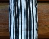 Plastic Bag Organizer/Storage, Black & White Stripes