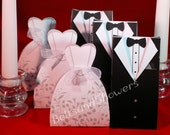 Bride & Groom Wedding Favor Boxes