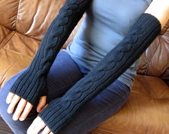 Popular items for black wrist warmers on Etsy