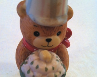 1980 Lucy and Me Birthday Bear Figurine