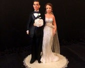 Captivating clean neat and neutral Wedding Topper