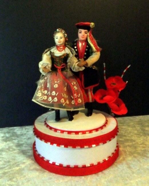 Poland Cake: Sto Lat Polish American Wedding Cake Topper