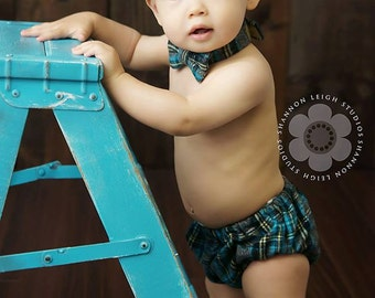 Ready to Ship! Baby Boy, Diaper Cover, Bow tie, Newsboy Hat, Cake Smash Outfit Boy, Baby Boy Photo Props, Newborn photo prop, newsboy set