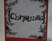 Christmas Card Handmade Digital Photo Card