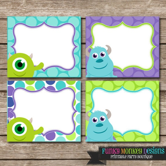 Monsters Inc Baby Shower Invitations is good invitations ideas