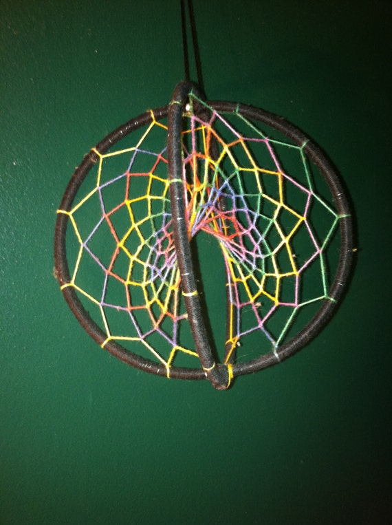 Items Similar To Funny Sweatshirt Cool Baseball Tshirt: Items Similar To 3D Rainbow Threaded Dream Catcher On Etsy