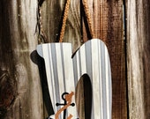 Wooden Letters - Wall Art - Hand-Painted Wall Art - Custom Home Decor - Initials - RESERVED ORDER for Sara Kovac