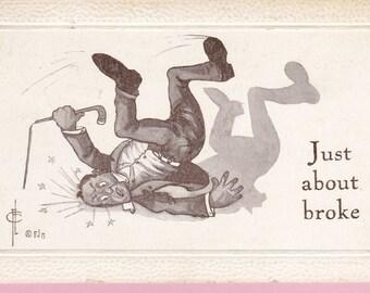 Ca. 1911 Comical Greetings Postcard - 937