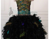 Peacock Dress - For the Love of Peacock Feather Dress