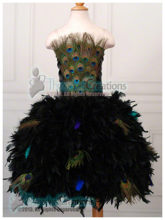Peacock Dress For the Love of Peacock Feather Dress