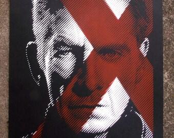 X-Men Magneto Silkscreen Print Days Of Future Past Poster