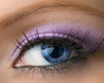 "Light Lilac Purple Eyeshadow - ""Dreamy"" - Vegan Mineral Eyeshadow Net Wt 2g Mineral Makeup Eye Color Pigment"