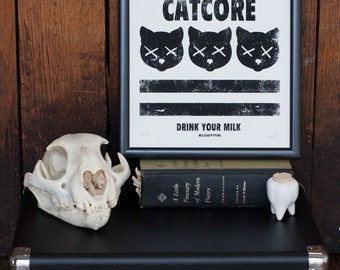 Catcore Screenprint