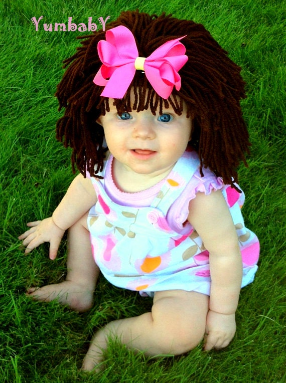 Halloween costume baby hat cabbage patch hat dora costume for Cabbage patch costumes