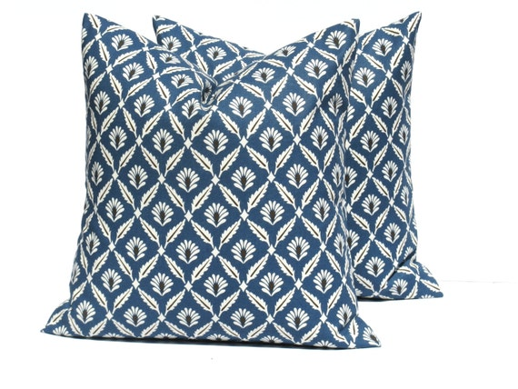 items similar to blue gray pillow euro pillow sham one 26x26 navy blue dark blue pillow floral. Black Bedroom Furniture Sets. Home Design Ideas