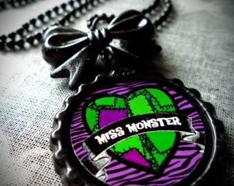 Miss Monster necklace