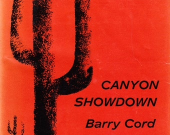 Canyon Showdown by Barry Cord