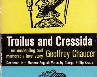 Troilus and Cressida by Geoffrey Chaucer, cover by Joseph Low