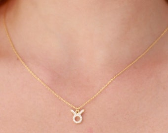 Bling Zodiac Astrological Sign Necklaces
