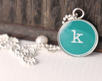 Initial Necklace | Personalized Initial Charm | Letter Charm