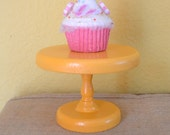Cupcake Stand Round 6 inch - Yellow Gold
