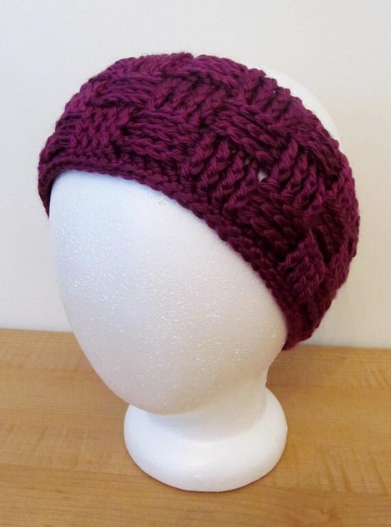 Crochet Patterns Ear Warmers : CROCHET PATTERN: Basketweave ear warmers 8 by Crochetlovebug