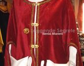 CUSTOM ORDER Elegant Man Dress double Tunic Renaissance Reenactment Sca Larp
