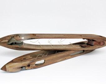 Vintage Wooden Flying Shuttles