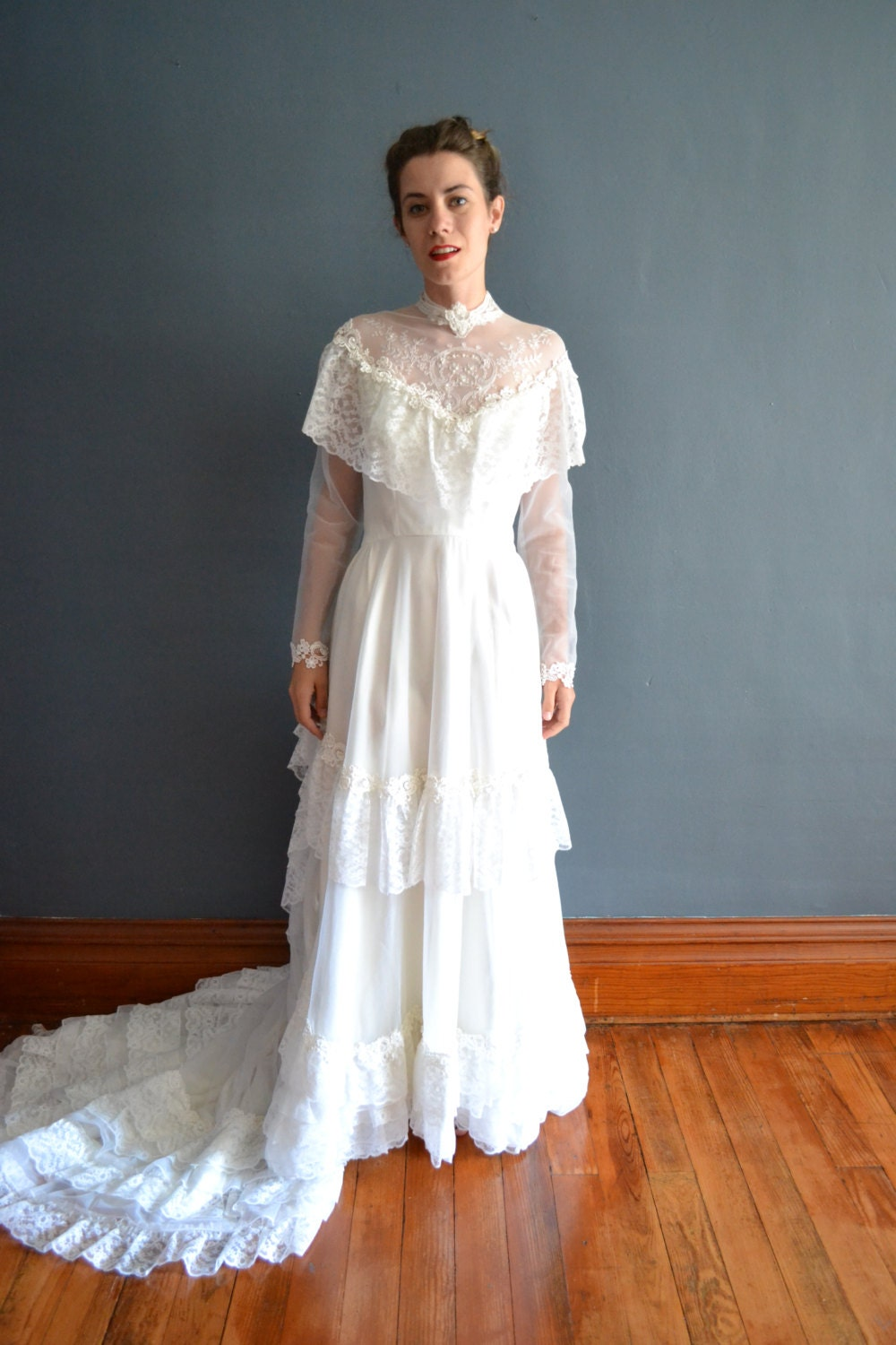 70s wedding dress 1970s wedding dress by breannefaouzi for 1970 s style wedding dresses
