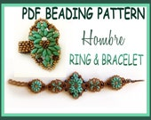 Tutorial Ring and Bracelet Superduo - Hombre - Pdf Beading Pattern