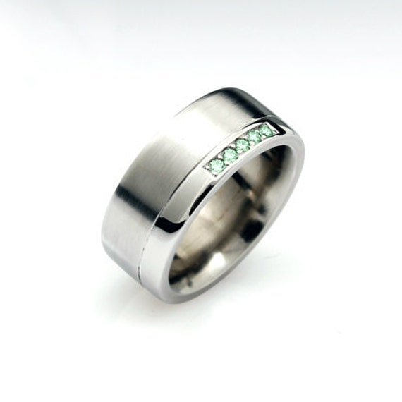 items similar to green ring white gold s