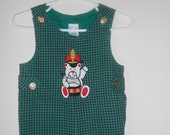 Vintage Baby Boy Jumper with Drumming Teddy Bear Free Shipping