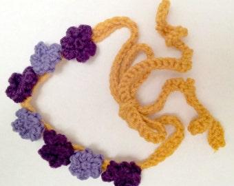 Crochet Flower Fairy Headband Pattern - Includes 3 Flower Patterns! - INSTANT DOWNLOAD - Crochet PDF Pattern